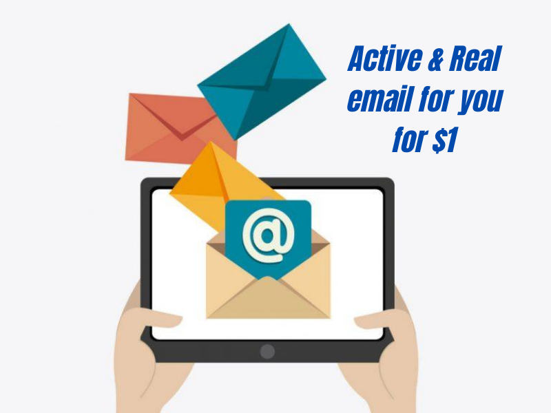 1k Active and Real USA email for you