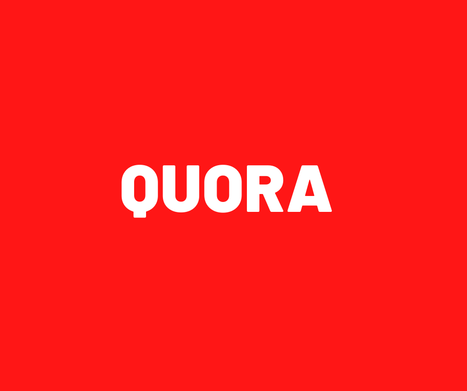 Niche Relevant 11 Quora questions answers.