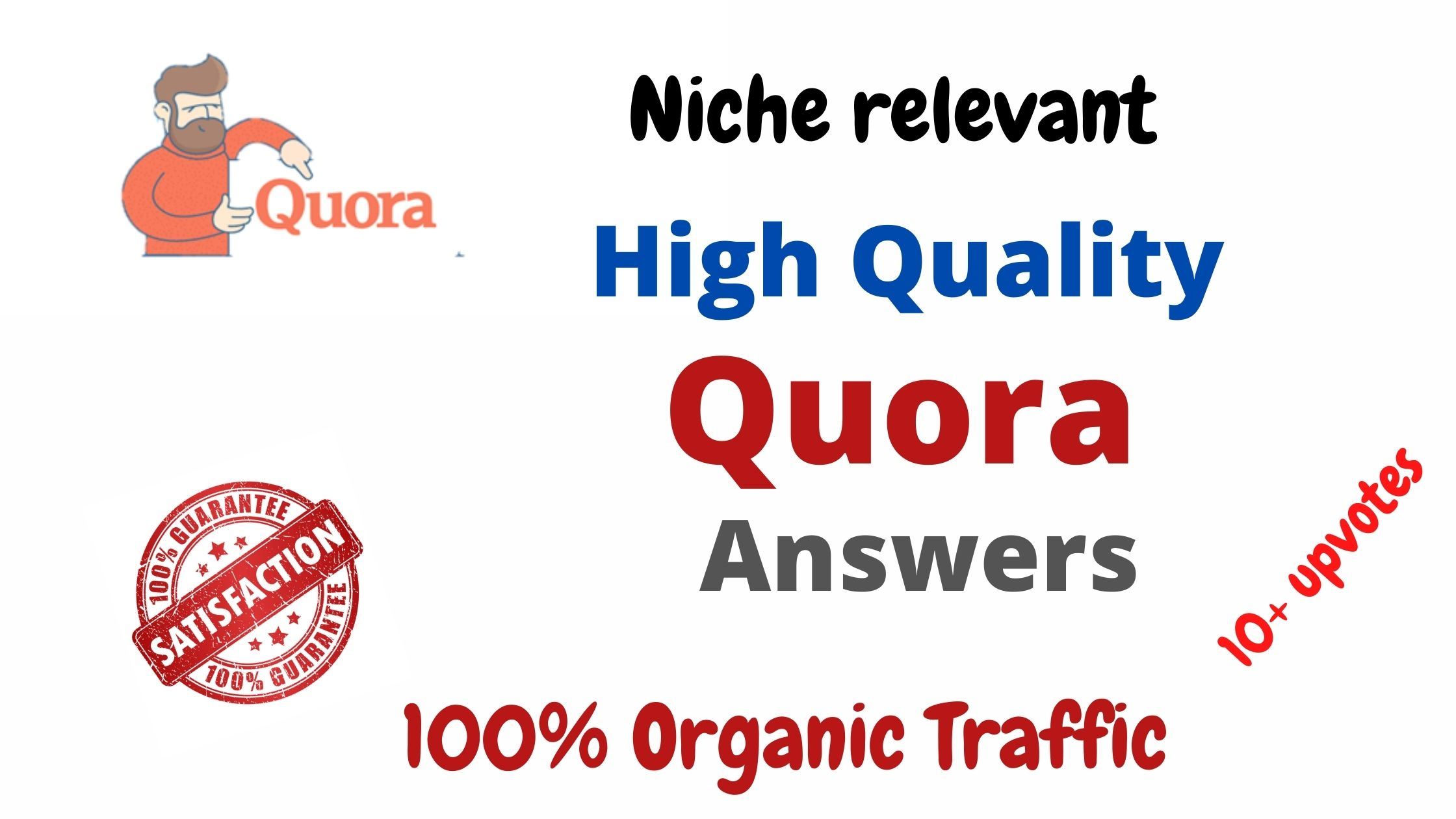 Provide 10 Niche Relevant Quora Answers for targeted traffic with Link