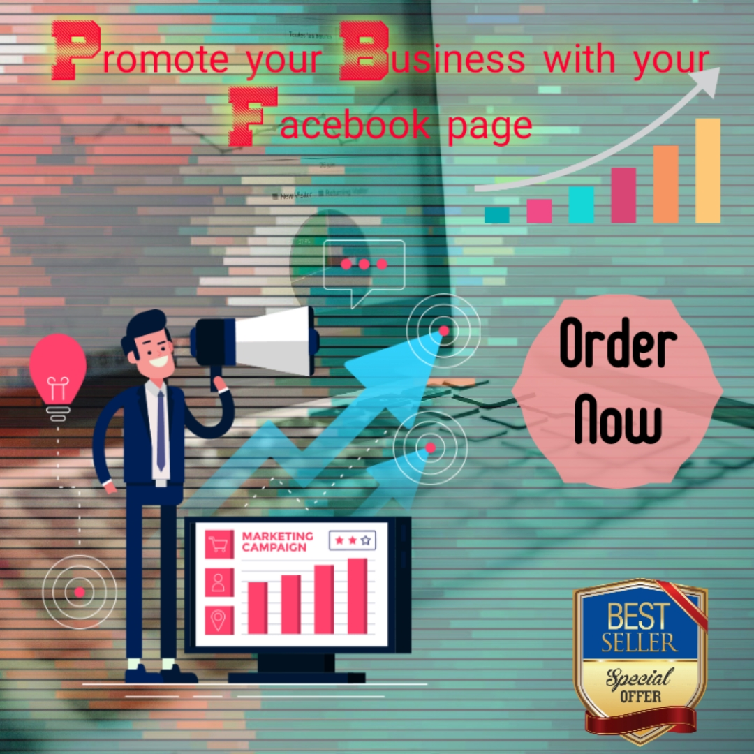 Promote your business with your facebook page