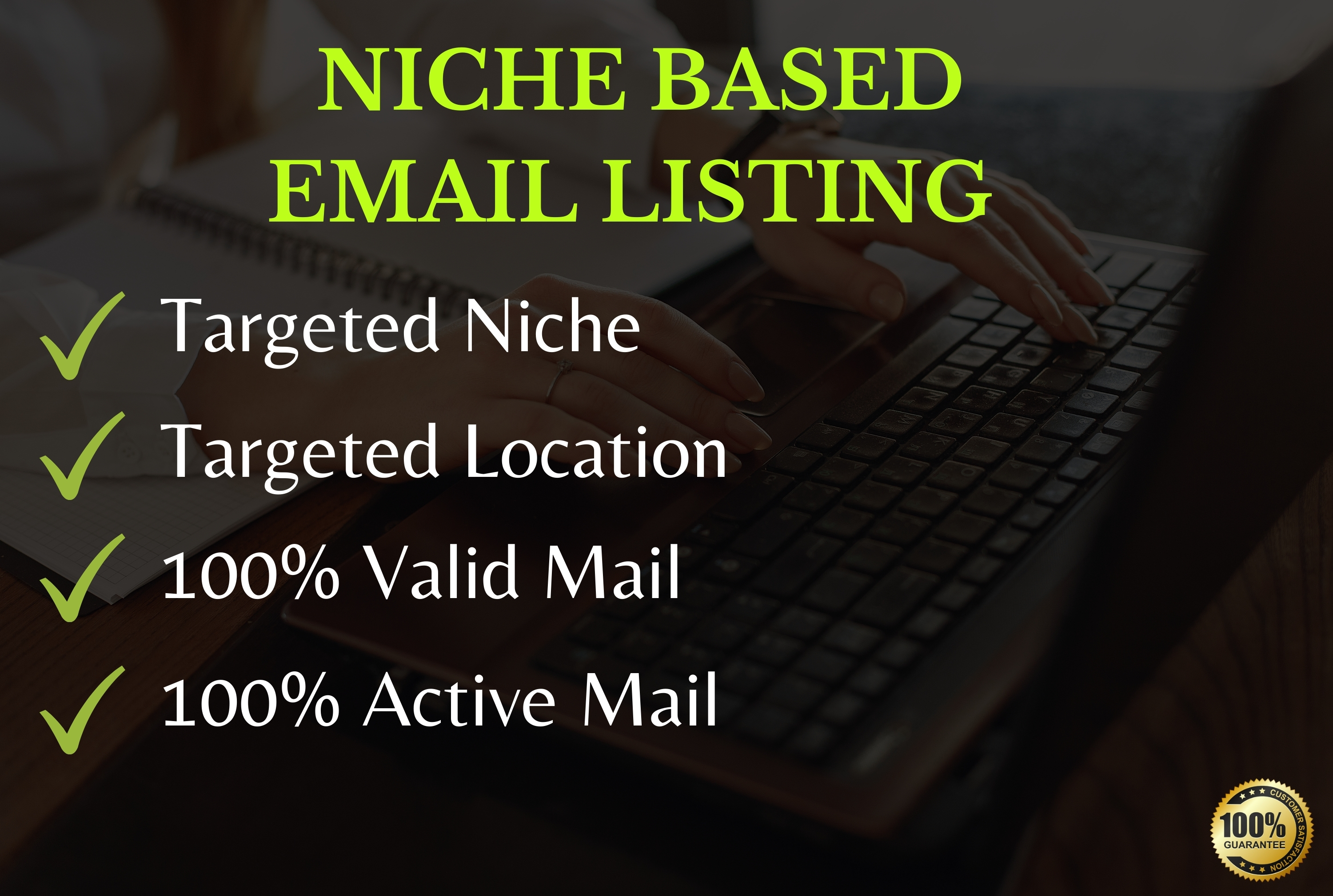 I will collect 5000 targeted niche based Email Addresses