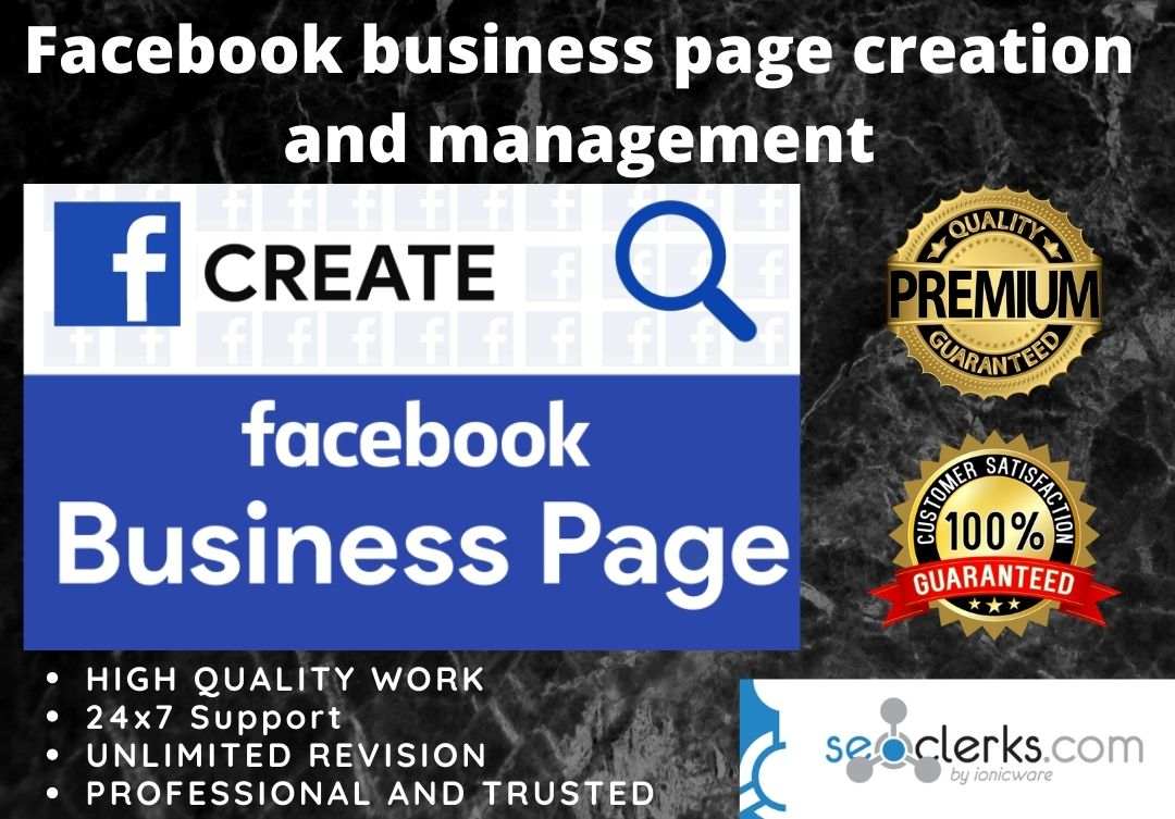 I Will create Professional and Awesome Facebook Business Page