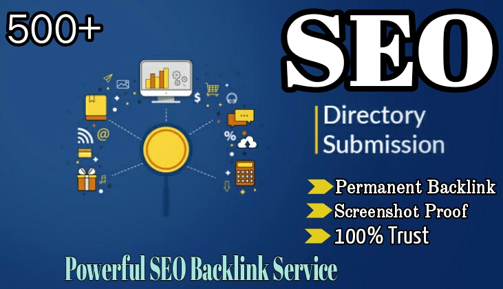 I will do 500 directory submission backlink
