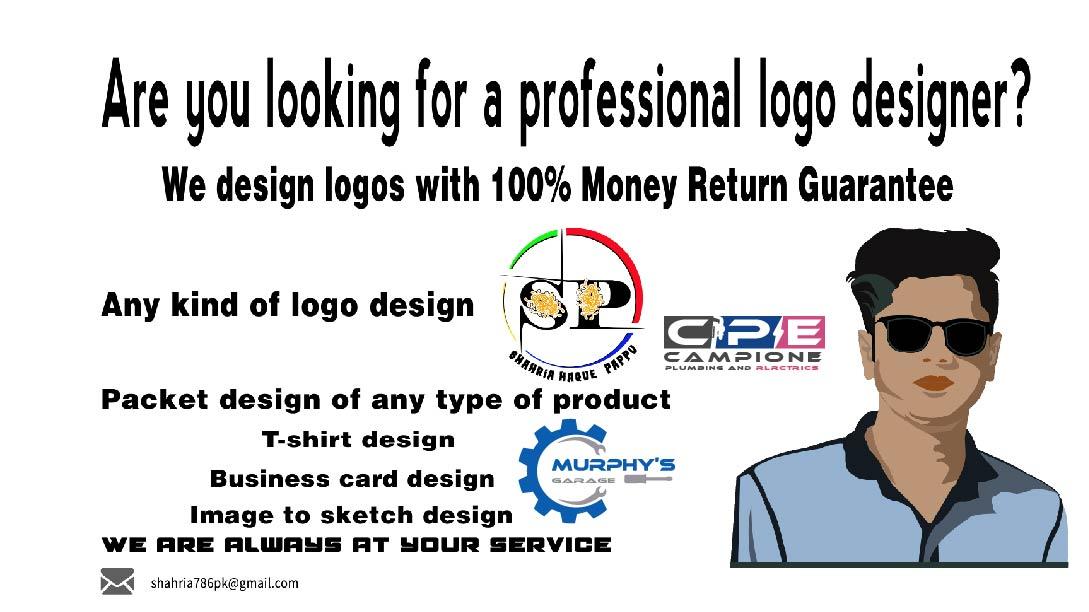 I will create modern business logo design