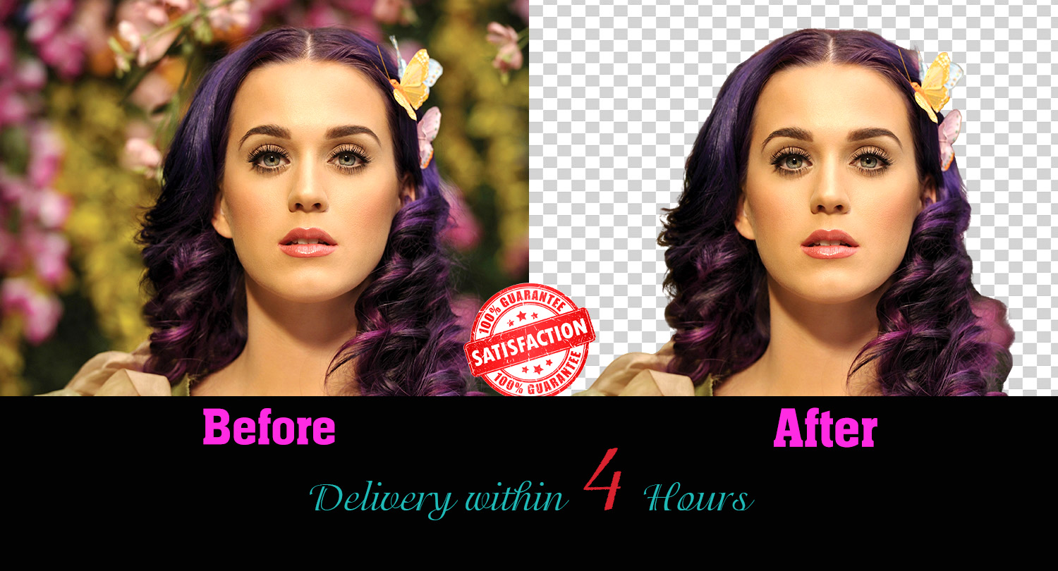 I will do any kind of professional background remove or change in 1 hour