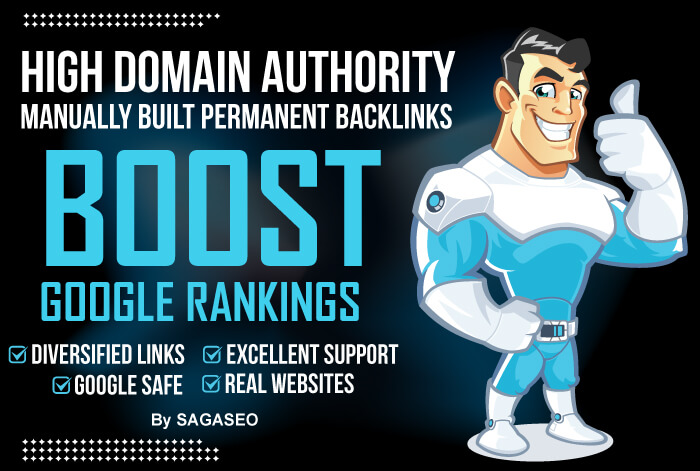 Manually create high authority SEO backlinks to boost your google ranking