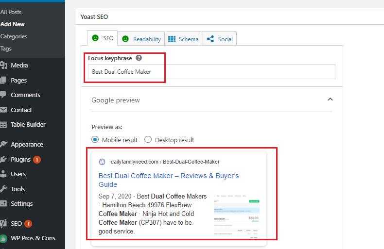 Do wordpress on page seo optimization using wordpress yoast seo effectlvely