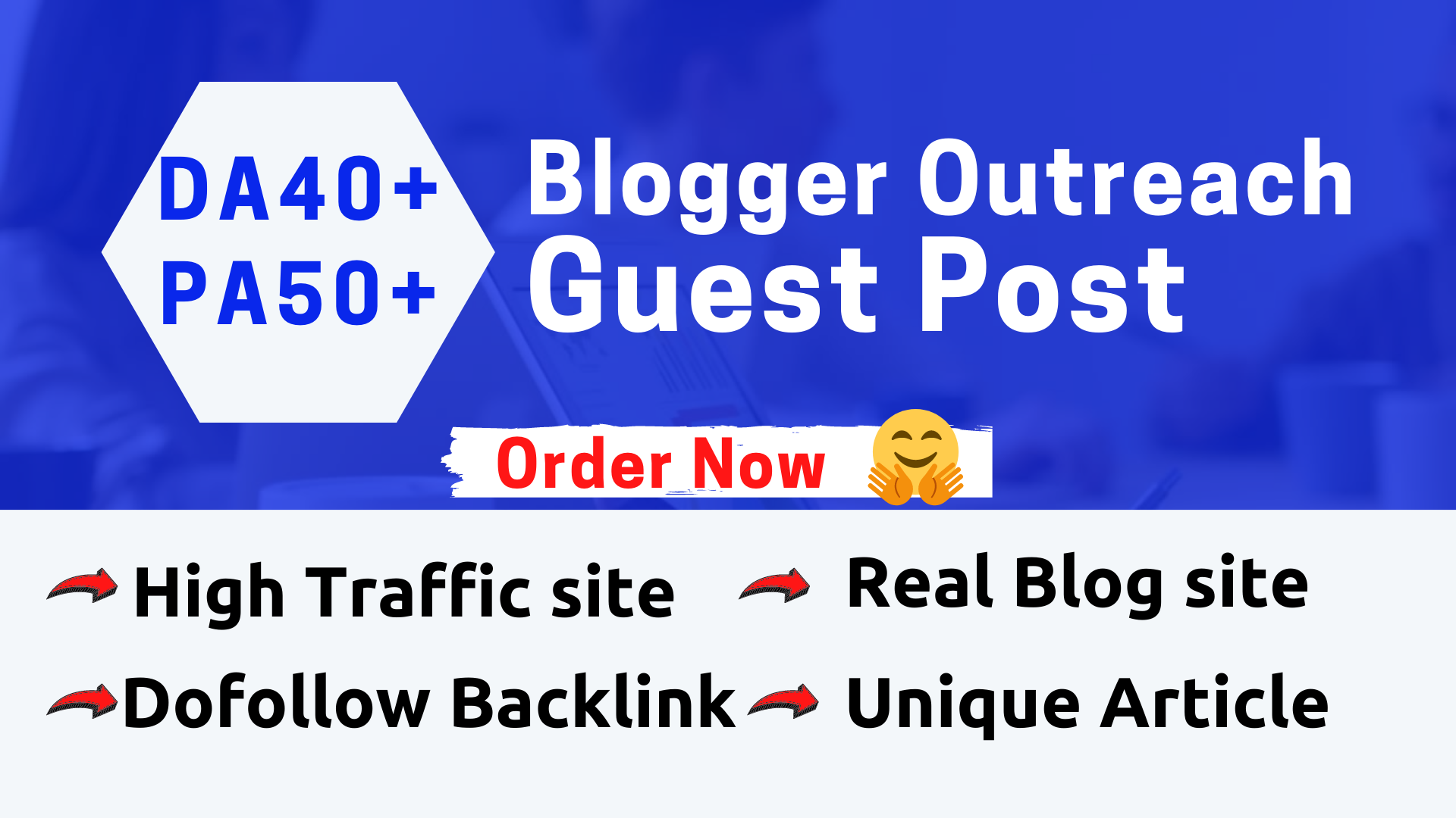 I will publish high quality SEO guest post on high DA,PA Blog site