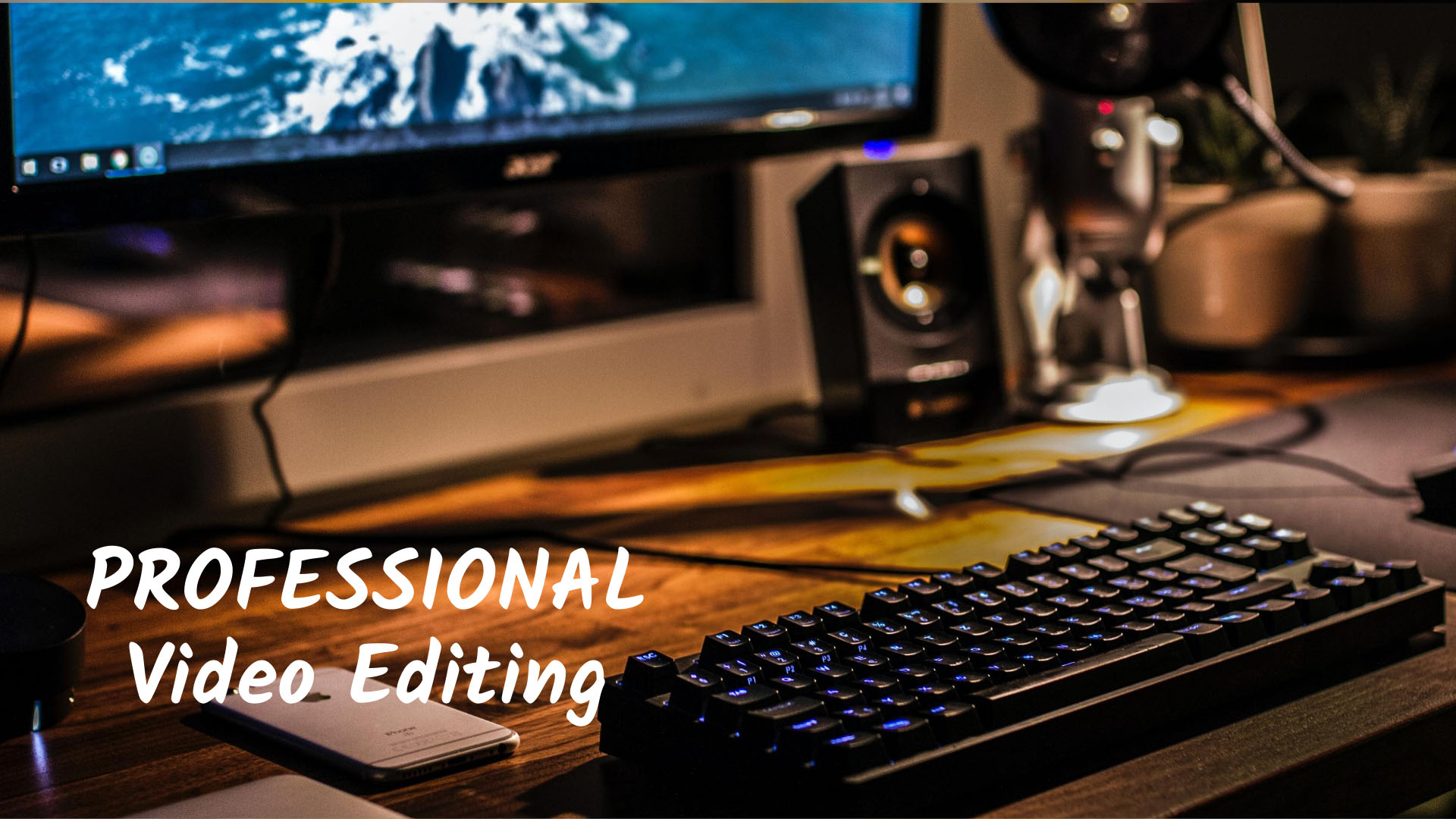 I will create occupational and simple video editing