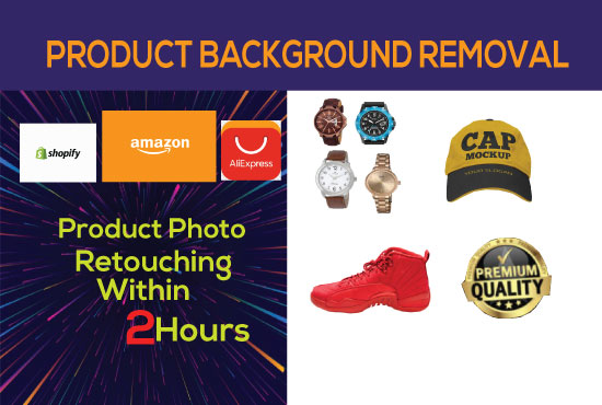I will remove background and photo retouching
