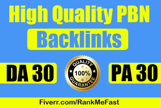 Build 10 DA 30+ WEB PBNs Powerful Homepage Dofollow BACKLINKS