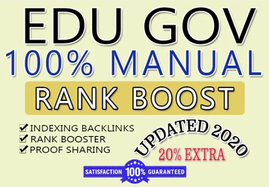 I will boost your high da premium quality 50+ edu/gov profile comment backlinks