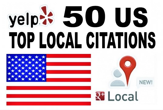 Manually Build 50 local citations with any tageted country