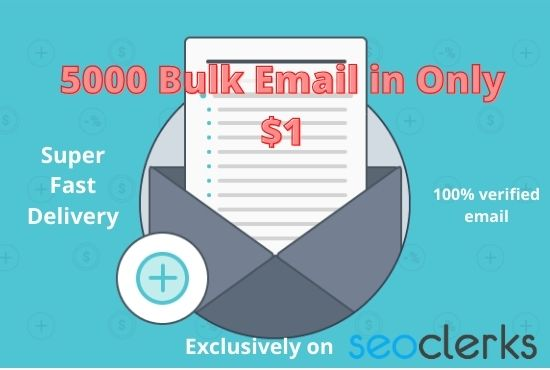 I will give you 1000 valid us email list