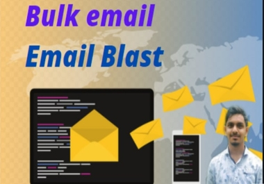 I will collect 1000 bulk email, send bulk email for email marketing