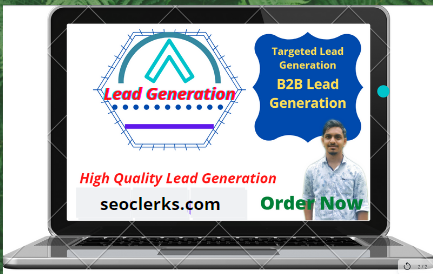 I will provide valid information, lead generation, data entry and web analysis.
