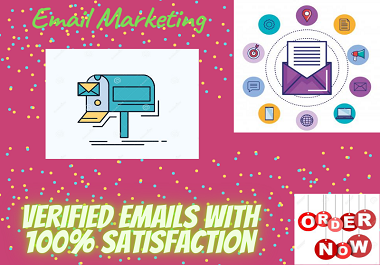 I will collect 100k verified bulk emails for your targeted business