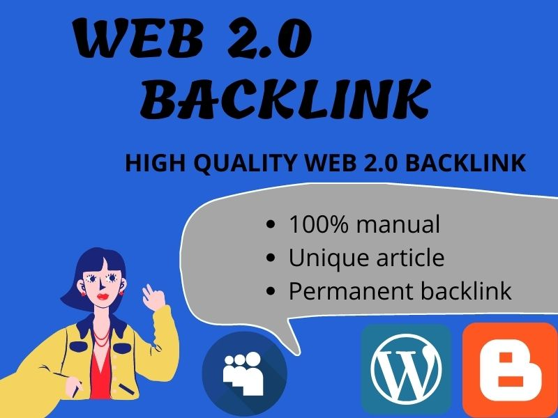 I will create 10 high quality web 2 0 backlinks For Ranking your website