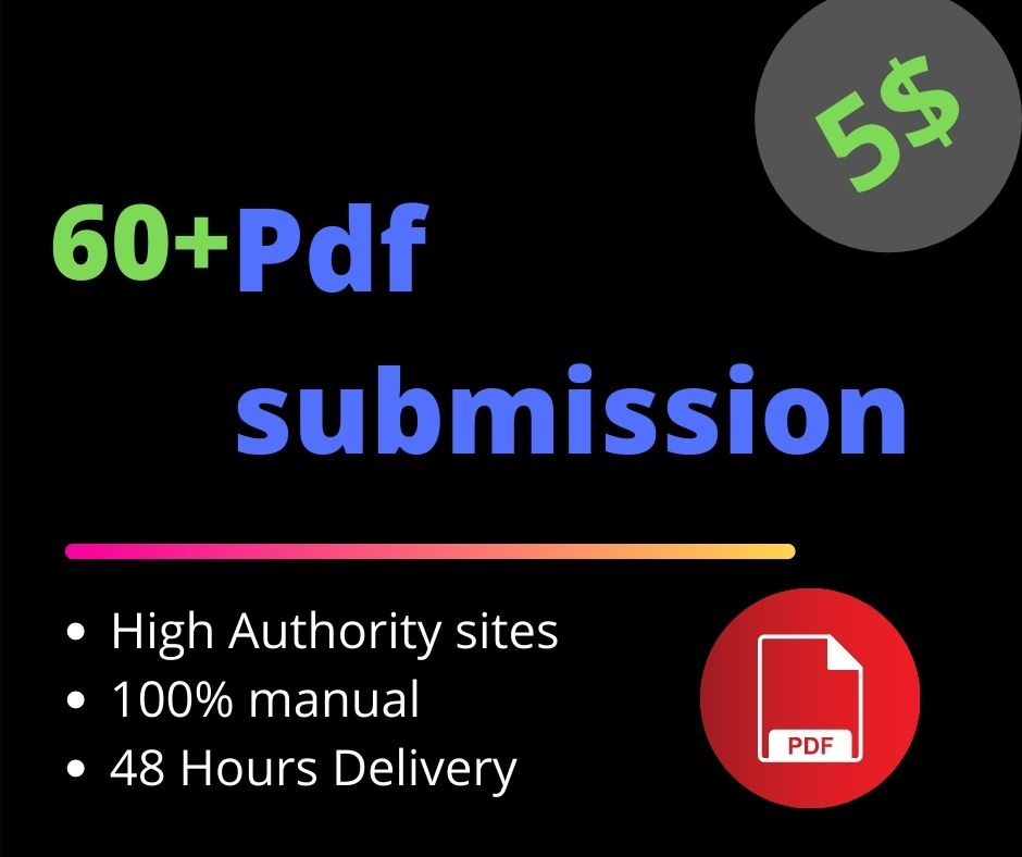 This is a PDF Submission service manual