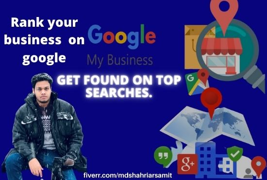 I will do google my business gmb and listing local citation SEO.