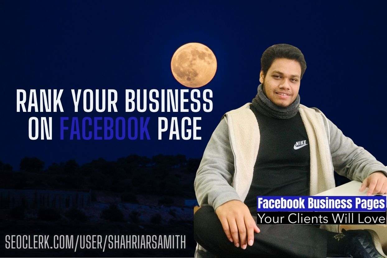 I will create a Facebook business page for your business