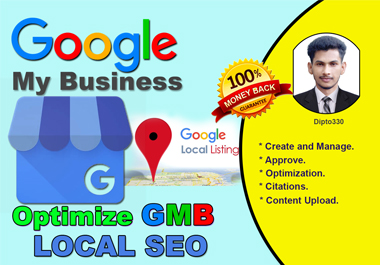 I will optimize google my business listing and heighten GMB ranking