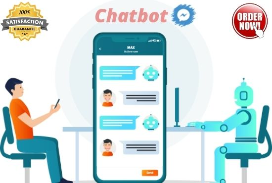 I will create a custom messenger chatbot in manychat