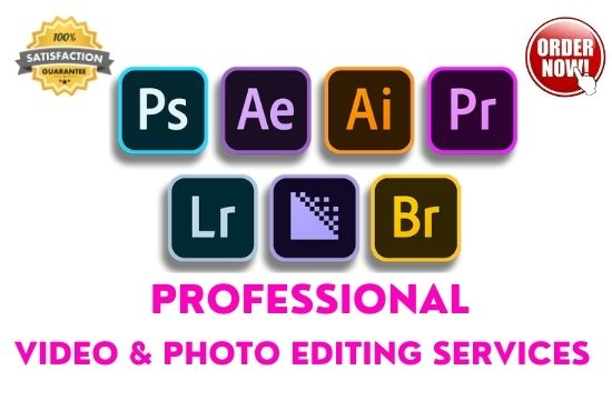I will do video and photo editing for youtube and social media