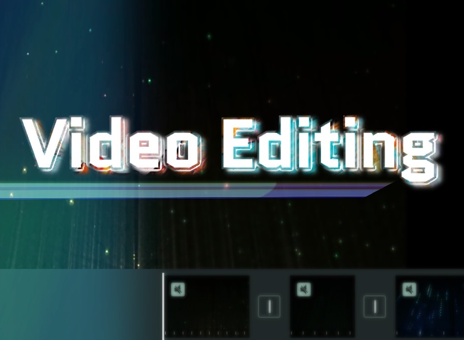 Video edits for your social media pages