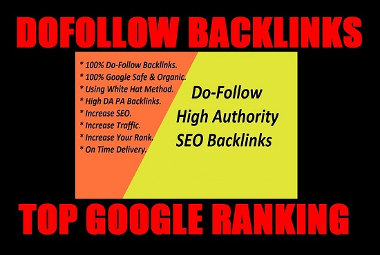 I Will Create High Authority 30 Dofollow Seo Backlinks