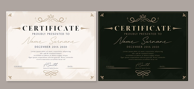 I will design Gift Voucher,  Coupon and Certificate Degree/Award