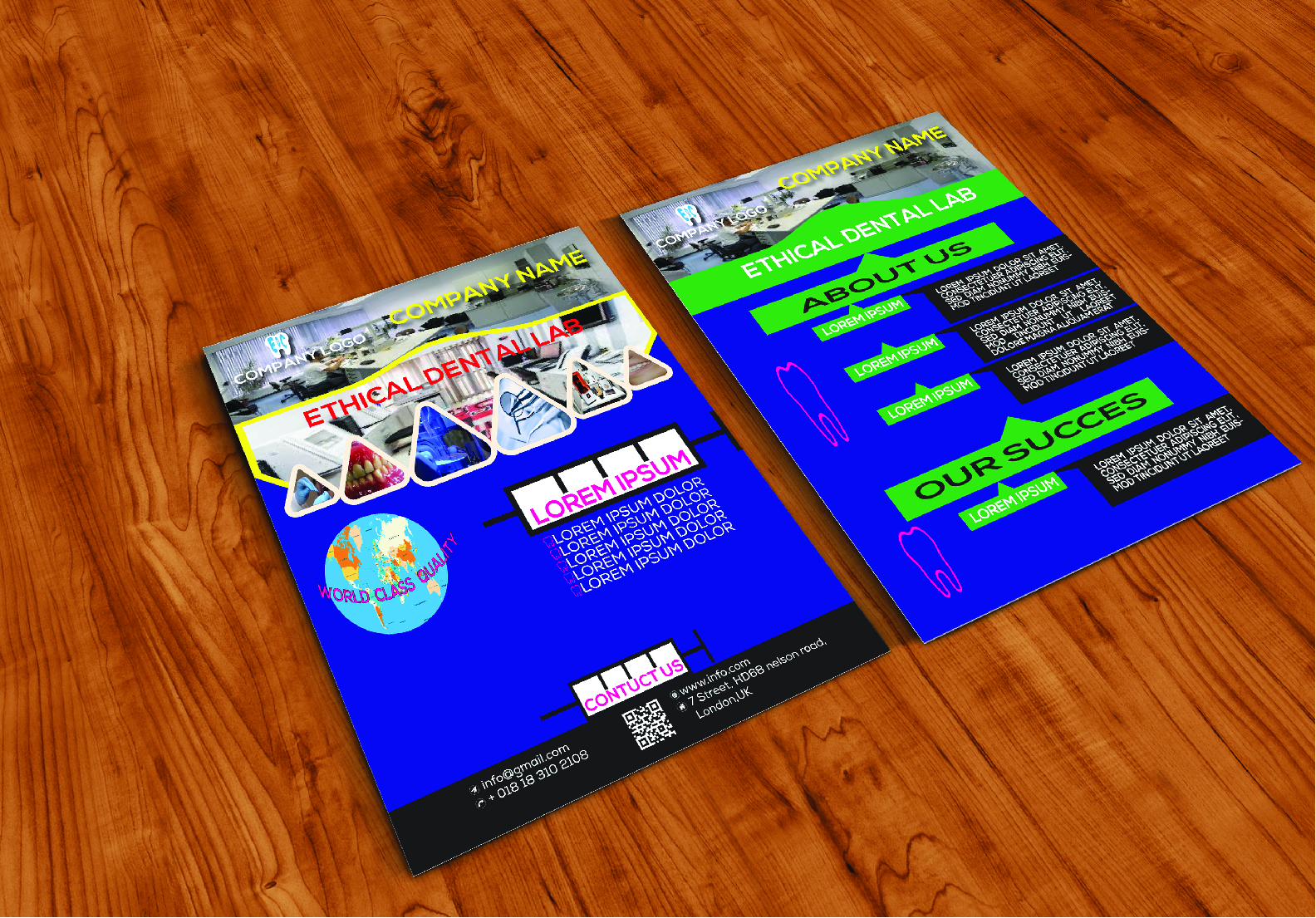 This is digital and modern flyer design