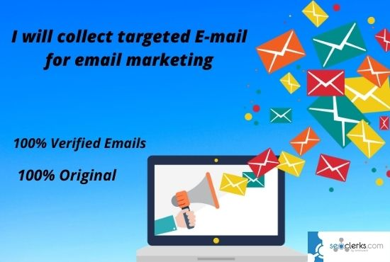 I will collect any Niche Targeted Verified email list for email marketing