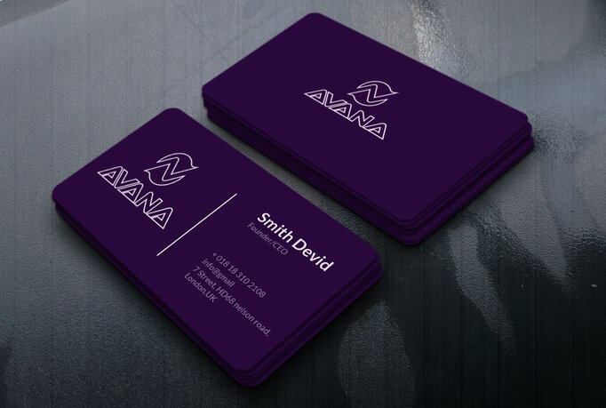 I will make for you professional or personal minimalist business card.