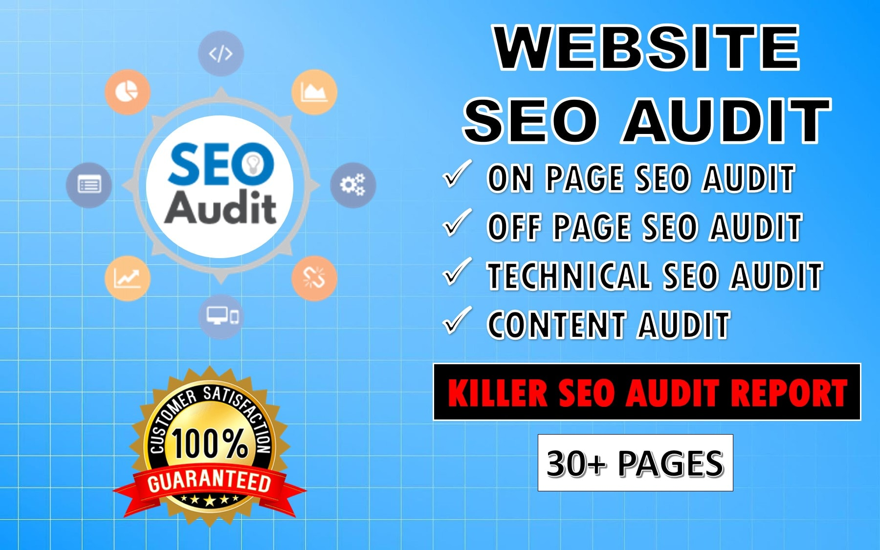 I Will Depth SEO Audit Your Website And Provide Consultant Report
