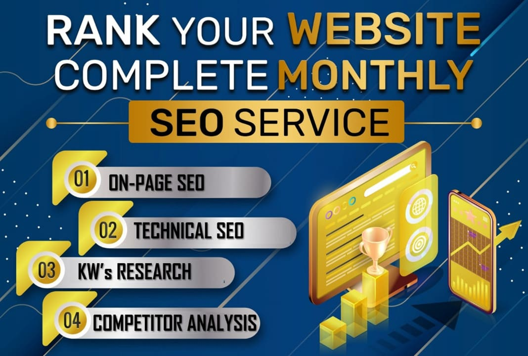 I Will Do Monthly On Page SEO Or Technical Optimization For Your WordPress Site Google Top Ranking