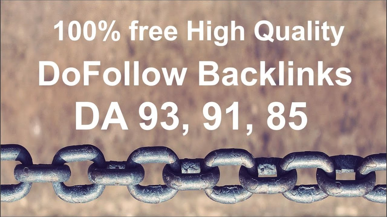 Create 100 High Quality Backlinks with Authority Dofollow Ranker 1 Google