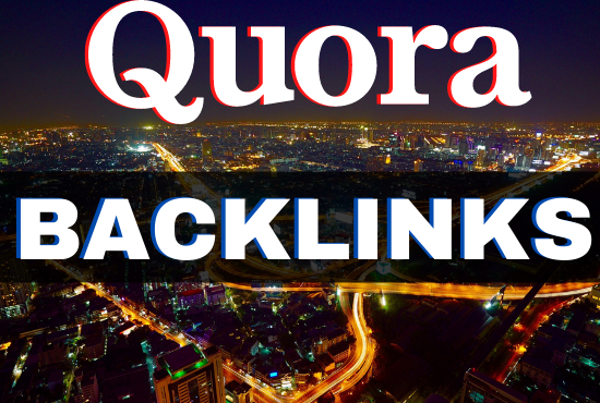 Niche related standard 100+ quora answer with your website link