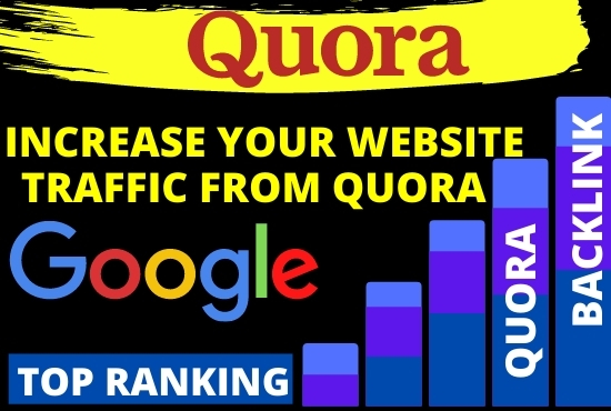 Guaranteed targeted traffic with 15 quora answers