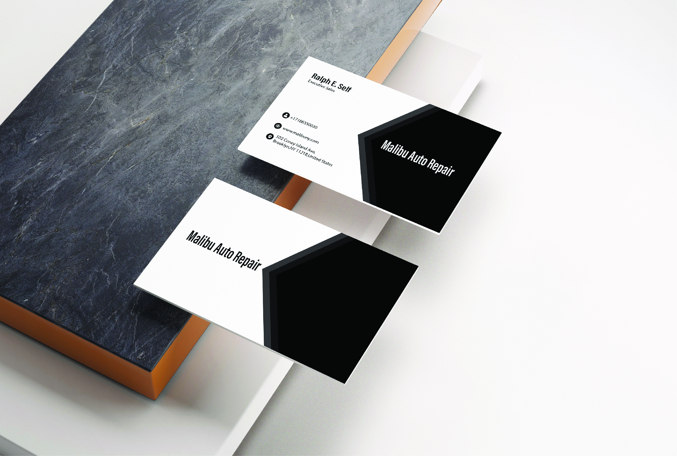 I will make professional and awesome unique minimalist business cards for you