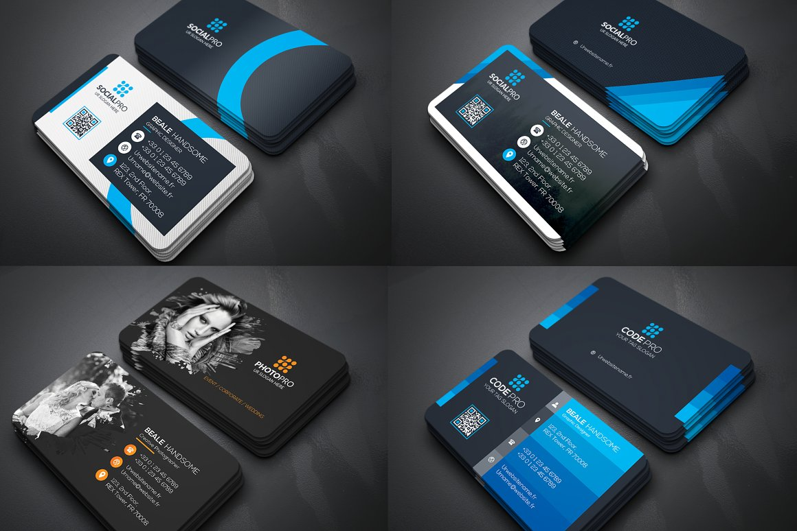 I will give you 450 template business card