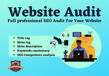 I will provide the best SEO/Website audit and opponent analysis for your site.