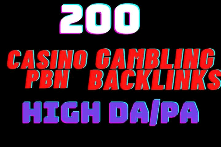 I will do 200 Punch Your CASINO,POKER,UEFA,Website on Google 1st page Backlinks