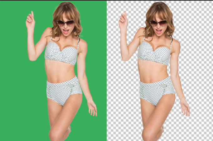I will Edit, remove background, change scenery, retouch your image