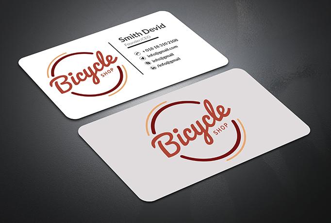 I Will do professional minimalist busineess card design
