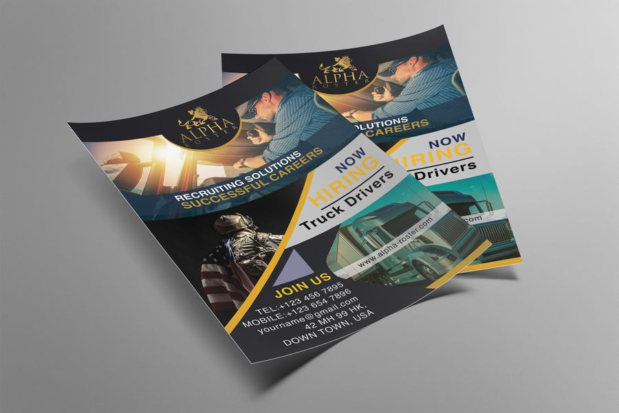 I will design professional business and corporate flyer
