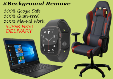 I will remove background of your product