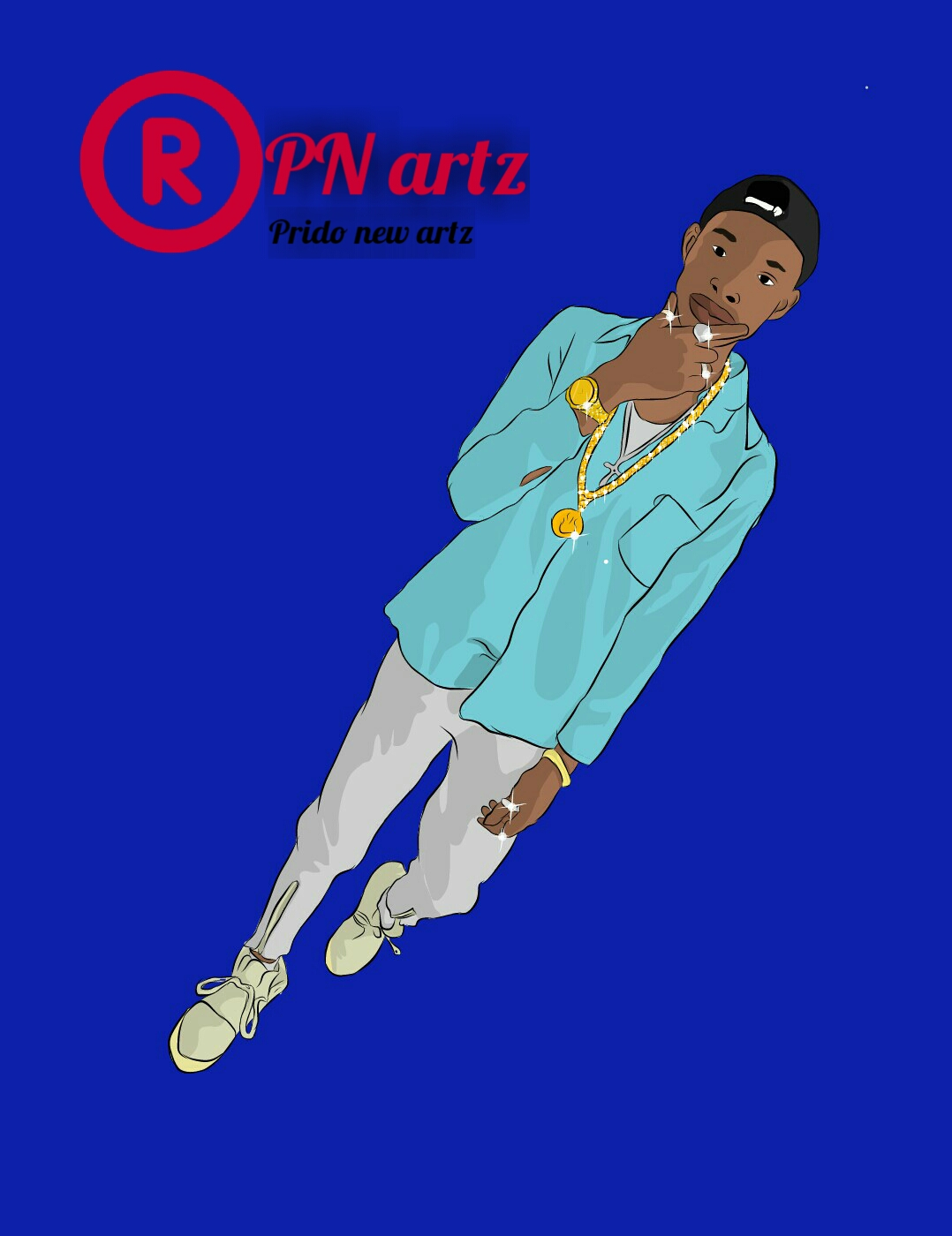 PN artz a service which edit your picture into a cartoon picture with high quality and good graphic.