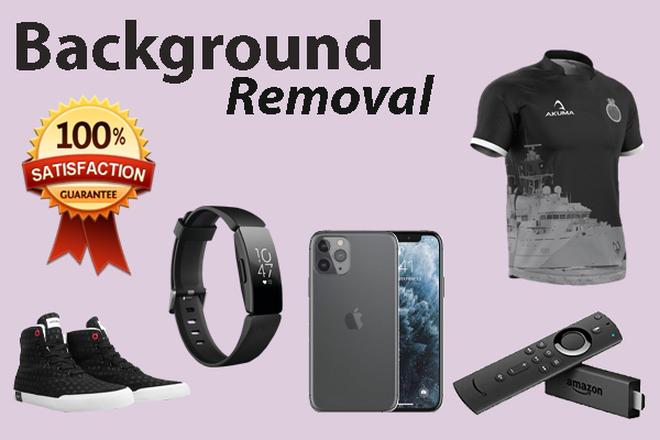 I will remove background for 5 photo