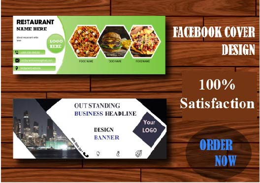 I will do Facebook Cover Design, and Banner design